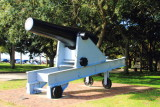 Cannon, The Battery, White Point Gardens, c.1844
