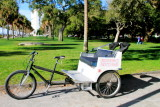 Cycle Rickshaw, The Battery, White Point Gardens, c.1844