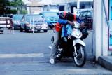 2 wheeler taxi - midday break