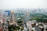 View of Bangkok skyline, Banyan Tree Hotel