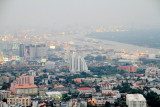 Chao Phrayo River, View of Bangkok skyline, Banyan Tree Hotel