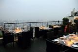 Vertigo restaurant, View of Bangkok skyline, Banyan Tree Hotel