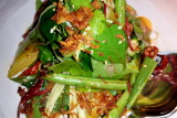 Nahm, thai vegetable and fruit salad  with tamarind, palm sugar and sesame dressing