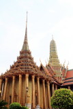 Wat Phra Kaew Temple Spire, Phra Mondop, the library, Grand Palace