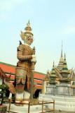 Thotsakhirithon,  giant demon (Yaksha) guarding an exit to Grand Palace