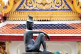 The Buddha's physician, Shivaka Kumar Baccha, Wat Phra Kae, Grand Palace
