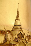 Wat Phra Kaew Temple Spire, Phra Sri Rattana Chedi in Sri Lankan style, Grand Palace