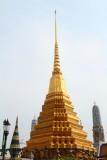 Entryway of Prasat Phra Thep Bidon, Wat Phra Kaew Temple Chedi (Spire), Grand Palace