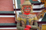 Thotsakhirithon,  giant demon (Yaksha) guarding an exit to Grand Palace