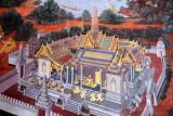 Ramakian Mural Cloisters, Wat Phra Kaew, Grand Palace