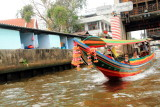 Canals through a longboat