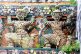 Decorations on the Wat Arun wall
