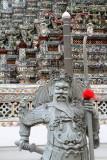 Chinese warrior, Wat Arun