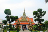 Ordination hall with Yaksha guardians in the Wat Arun