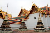Chedi Rai near Phra Rabieng cloister, Wat Pho, Temple of the Reclining Buddha