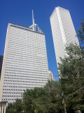Prudential building and Aon Center, Chicago