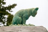 Jeremiah Hulsebos-Spofford, Cat Monument, Grosse Point Light, Evanston