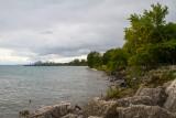 Northshore coastline, Elliot Park, Evanston, Illinois