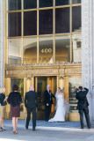 Wedding, photographer, bride, Wrigley Building, Chicago, IL