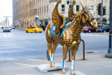 Horses of Honor, Chicago Police Memorial, Public art, Chicago, IL