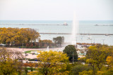 Chicago Lighthouse, Buckingham fountain, View from the Presidential Suite, Blackstone Hotel, Fall Colors, Chicago Open House 201