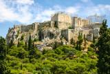 Acropolis, The Upper City, Greece