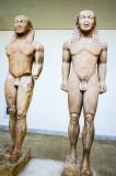 Cleobis and Biton, Delphi