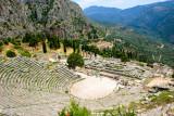 Delphi, Temple of Apollo, Greece