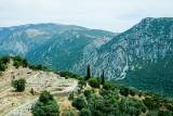 The ancient gymnasium, Delphi