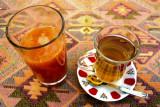 Apple tea and Orange Juice, Istanbul, Turkey