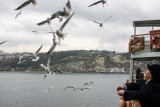 Ferry across the Sea of Marmara, Turkey