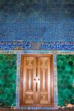 Door, Green Mosque, Bursa, Turkey