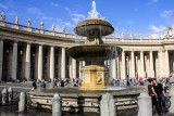 Lovers, Fountain, Piazza San Pietro (St. Peter's Square and Basilica), Vatican City