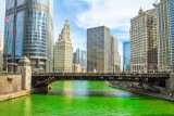 Chicago, St. Patrick's Day, 2015