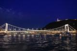 Bridge across the Danube, Liberty Statue, Budapest, Hungary