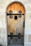 Door, Buda Castle, Budapest, Hungary