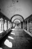 Buda Castle, Infinity corridors, Budapest, Hungary
