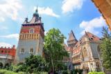 Vajdahunyad Castle, Budapest City Park, Hungary