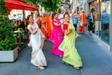 Hare Krishna on Andrassy Avenue, Budapest, Hungary