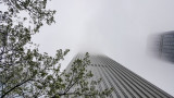 Chicago in the clouds, Aon Center