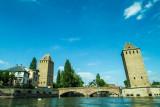Les ponts couverts, Strasbourg, France