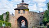 Dunbach-la-ville, Route du Vin, Alsace, France