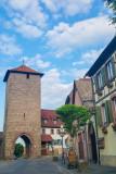 Cite fortifiee de Dumbach-la-ville, Route du Vin, Alsace, France