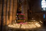 Candles, Freiburg Munster medieval cathedral, Freiburg im Breisgau, Black Forest, Germany