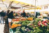 Farmers market, Freiburg im Breisgau, Black Forest, Germany