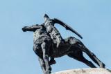 Horse, statue, Freiburg im Breisgau, Black Forest, Germany