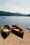 Boats, Lake Titisee, Black Forest, Germany