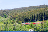 Train, Lake Titisee, Black Forest, Germany