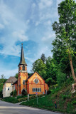 Church, Triberg, Black Forest, Germany