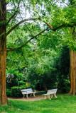Benches, Gastatte Schneckenmatt, Gengenbach, Black Forest, Germany